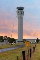 Ace tower hire works on the Melbourne's new Airport Control tower centre.