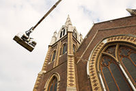Investigation of Nth Melbourne Church Spire