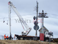 Changing antennas and radio dome