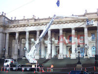 60 Metre Cherry Picker was hired to inspect the building of any risks or dangers.