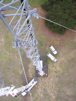 We were required to remove lights on telstra aerials